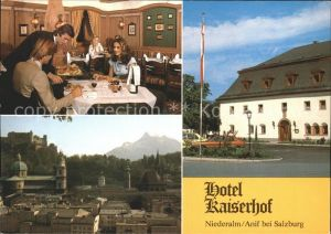 Anif Niederalm Hotel Restaurant Kaiserhof  Kat. Anif