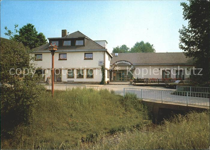 Thurnau Cafe Restaurant Schorrmuehle Kat. Thurnau