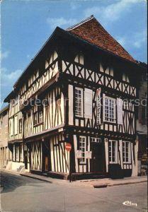 Saint Dizier Haute Marne Maison Parcollet Fachwerkhaus Kat. Saint Dizier