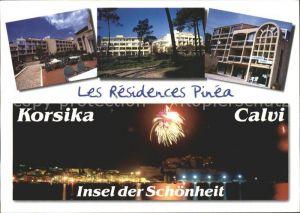 Calvi Les Residence Pinea Feuerwerk Kat. Calvi