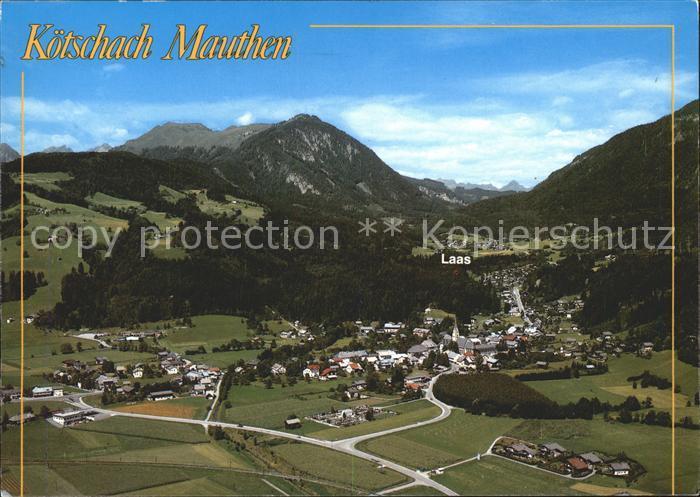 Koetschach Mauthen Kaernten Laas Richtung Gailberg Bergsteigen Dolomiten  Kat. Koetschach Mauthen