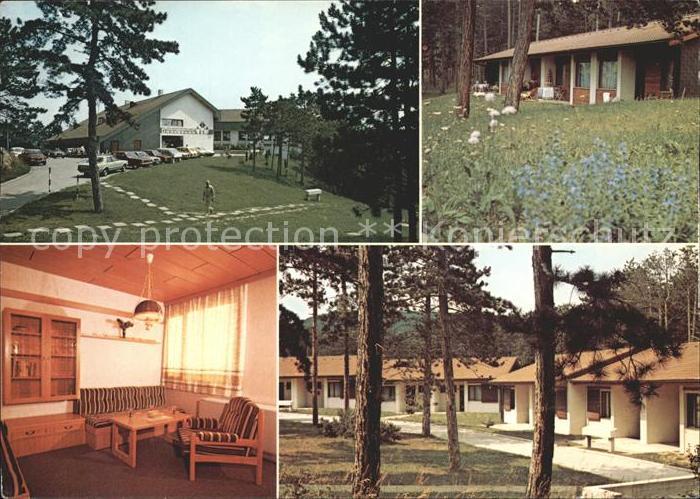Enzesfeld Lindabrunn Erholungszentrum Lindabrunn  Kat. Enzesfeld Lindabrunn