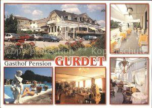Hartberg Steiermark Gasthof Pension Gurdet in Unterrohr Kat. Hartberg