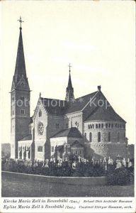 Reussbuehl Kirche Maria Zell Architekt Hanauer Kat. Reussbuehl