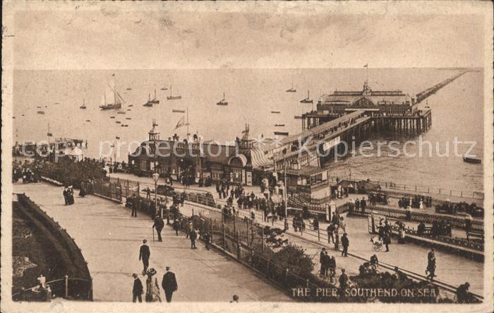Southend-on-Sea Pier / Southend-on-Sea /Southend-on-Sea