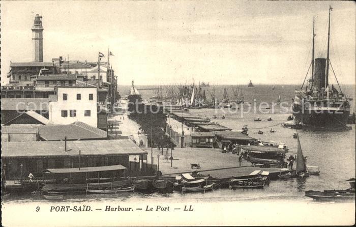Port Said Harbour Port Schiffe Kat. Port Said