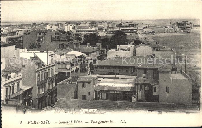 Port Said  Kat. Port Said