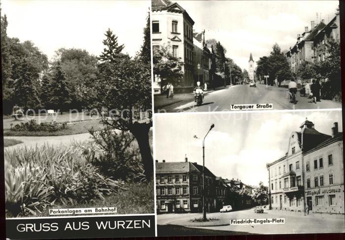 Wurzen Sachsen Torgauer Strasse Friedrich Engels Platz Kat. Wurzen