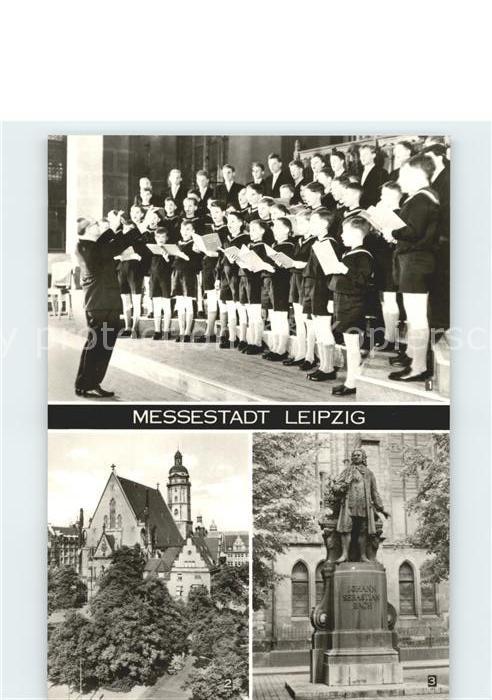 Leipzig Thomanerchor Thomaskirche Kat. Leipzig