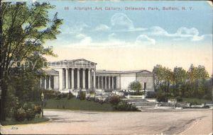 Buffalo New York Albright Art Gallery Delaware Park Kat. Buffalo
