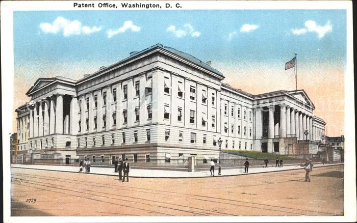 Washington DC Patent Office Kat. Washington