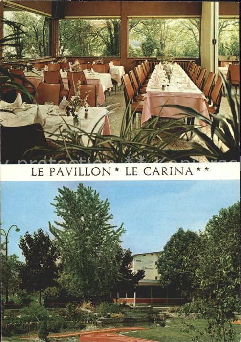 Gap Hautes Alpes Hotels Restaurant Le Pavillon et Le Carina Kat. Gap