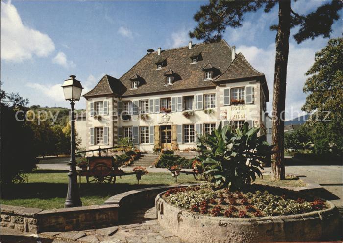 Ingersheim Haut Rhin Hotel de Ville Rathaus Kat ...