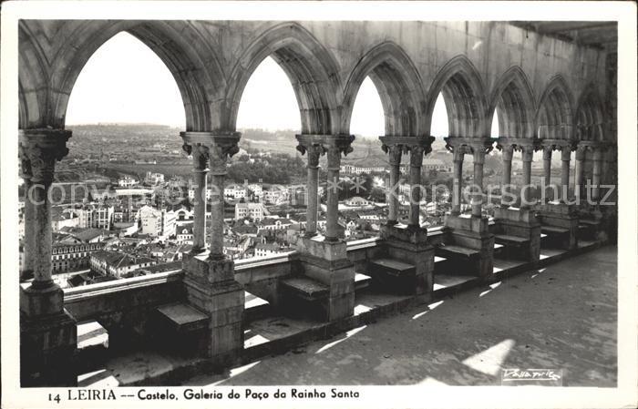 Leiria Castelo Galeria do Paco da Rainha Santa Kat. Leiria