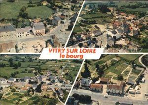 Vitry sur Loire Le Bourg Bourbon Lancy Vue aerienne Kat. Vitry sur Loire