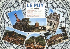 Le Puy en Velay Teilansichten Kat. Le Puy en Velay