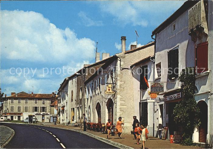Saint Claud Place des Tilleuls Kat. Saint Claud