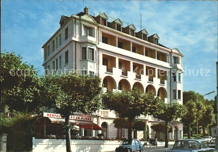 Hotel De La Plage Evian Les Bains