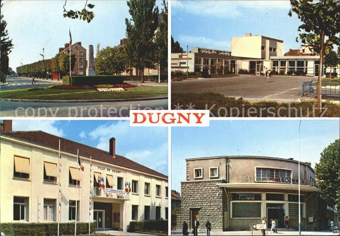 Dugny Seine Saint Denis La Poste La Mairie L Ecole maternelle Marcel Cochin Kat. Dugny