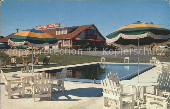 Pottersville New Jersey Alpine Hotel Lake Placid Kat. Pottersville
