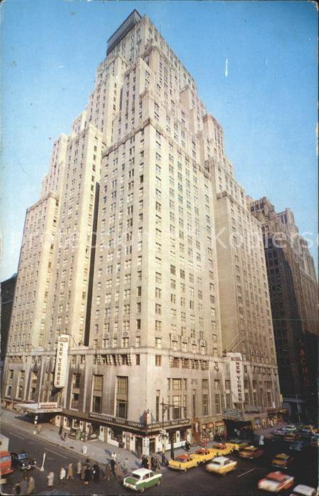 New York City Hotel New Yorker / New York /