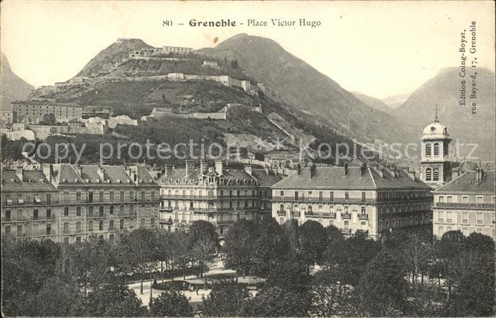 Grenoble Place Victor Hugo Kat. Grenoble