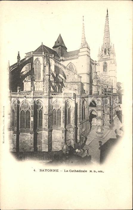 Bayonne Pyrenees Atlantiques Cathedrale Kat. Bayonne