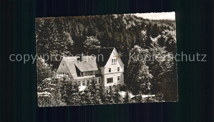 Oerlinghausen Bielefelder Naturfreundehaus am T?nsberg Kat. Oerlinghausen