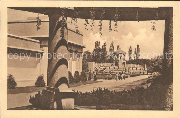 Breslau Niederschlesien Ausstellung zur Jahrhundertfeier der Freiheitskriege 1913 Belvedere Amtliche Postkarte Nr 16 Kat. Wroclaw