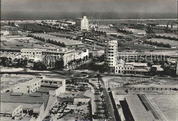 Casablanca Vue generale du Port vue aerienne Kat. Casablanca