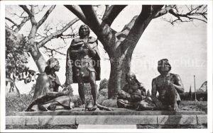 Montevideo Uruguay Monumento a los Indios Charruas Jardines del Prado Kat. Montevideo
