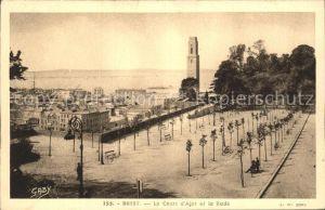 Brest Finistere Cours d Ajot et la Rade Kat. Brest