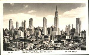 New York City Mid New York Skyline / New York /