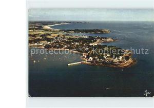Port Navalo La Pointe et le Port vue aerienne Kat. Arzon