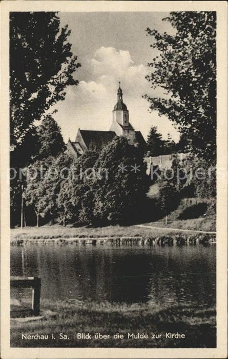 Nerchau Mulde Kirche Kat. Nerchau