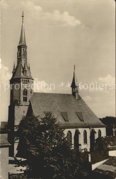 Waldenburg Sachsen Kirche Kat. Waldenburg Sachsen