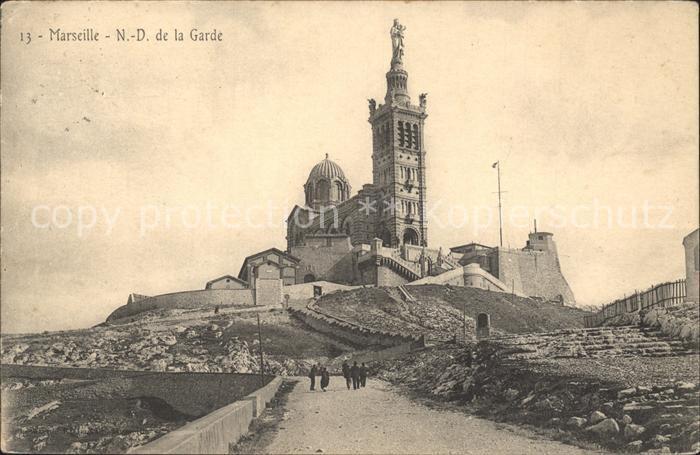 Marseille N.D. de la Garde / Marseille /Arrond. de Marseille