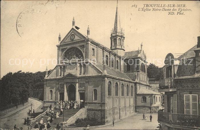 Trouville sur Mer Eglise Notre Dame des Victoires Kat. Trouville sur Mer
