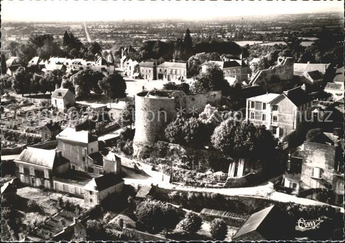 Sainte Suzanne Mayenne Ruines du Vieeux Chateau La Tour Sud et les Remparts Kat. Sainte Suzanne