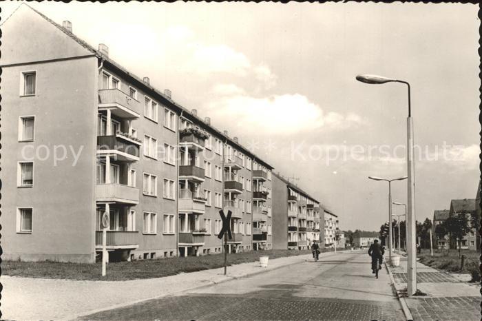 Calau Otto Nuschke Strasse Kat. Calau