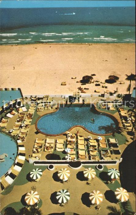 Miami Beach Ivanhoe Hotel Beach Kat. Miami Beach