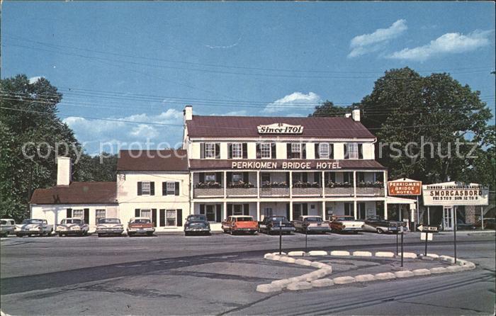 Collegeville Pennsylvania Perkiomen Bridge Hotel Kat 0