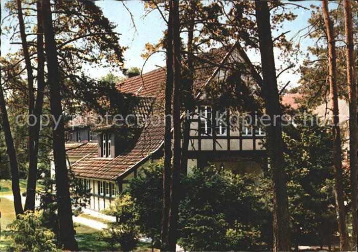 Oerlinghausen Bosse Schullandheim Kat. Oerlinghausen