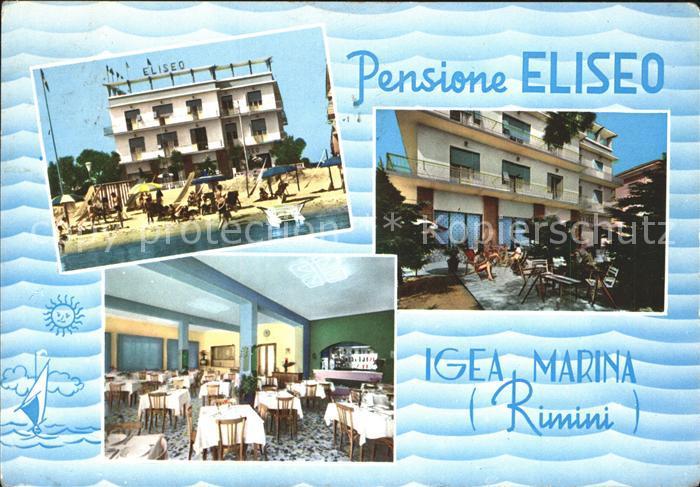 Rimini Pensione Eliseo Igea Marina Kat. Rimini