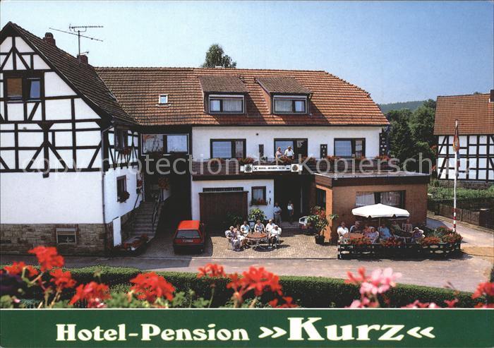 Rengshausen Knuellwald Hotel Pension Kurz Kat. Knuellwald