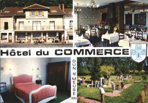 Dun sur Meuse Hotel Commerce Kat. Dun sur Meuse