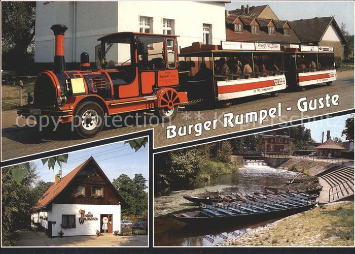 Werben Niederlausitz Spreewald Touristenbahn Burgen Rumpel Guste Richarf Rumpel Kat. Werben Niederlausitz