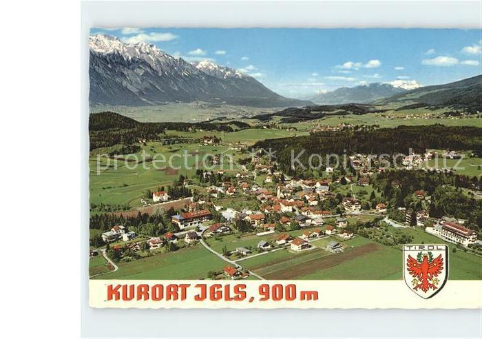 Igls Tirol Nordkette Unterinntal Kellerjoch Kat. Innsbruck