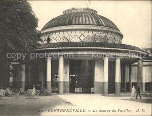 Contrexeville Vosges La Source du Pavillon Kat. Contrexeville
