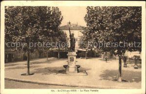 Saint Cyr sur Mer Place Portales Kat. Saint Cyr sur Mer